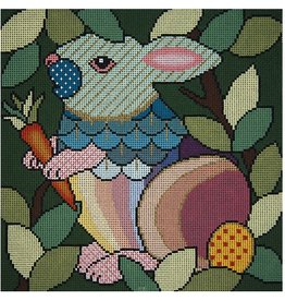 JP Needlepoint Who Gives A Hop II<br />5&quot; x 5&quot;