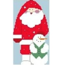 Kathy Schenkel Winter Santa<br />5&quot; x 3&quot;