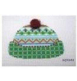 Squiggee Norweigian Knit Hat<br />3.25&quot; x 4.5&quot;