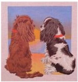 Point of it All Cavalier King Charles Sunse<br />