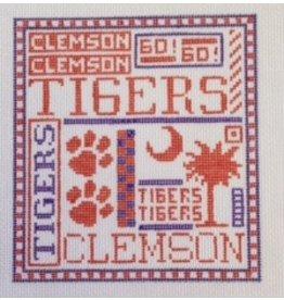 Elizabeth Turner Clemson ornament<br />4.5&quot; x 5&quot;