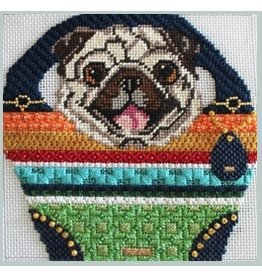 Julie Mar Pug in Shopper Bag<br />