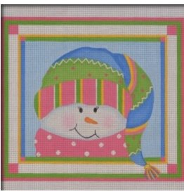 Pepperberry Design Sparkles Snowgirl<br />8.25&quot; x 9.5&quot;<br />Stitch Guide included