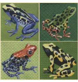 Labors of Love Frog coasters (set of 4)<br />