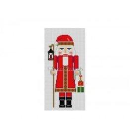 Susan Roberts Nutcracker, Santa w/Lantern<br />6&quot; high
