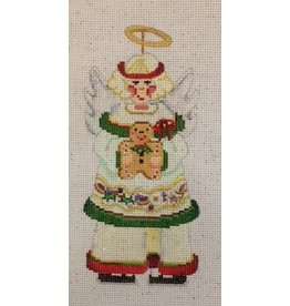 Strictly Christmas Angel with Gingerbread Man<br />