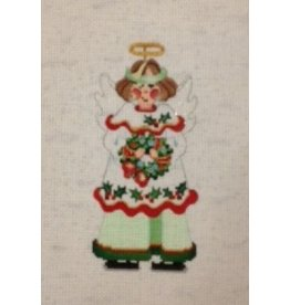 Strictly Christmas Angel w/wreath<br />