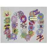 Alice Peterson Caterpillar Alphabet<br />20&quot;x16&quot;