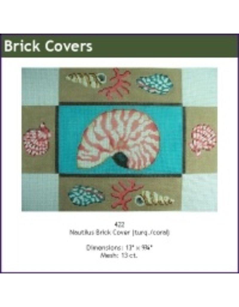 Alice Peterson Nautilus shell brickcover