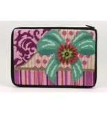 Alice Peterson Pink package makeup bag<br />Stitch &amp; Zip