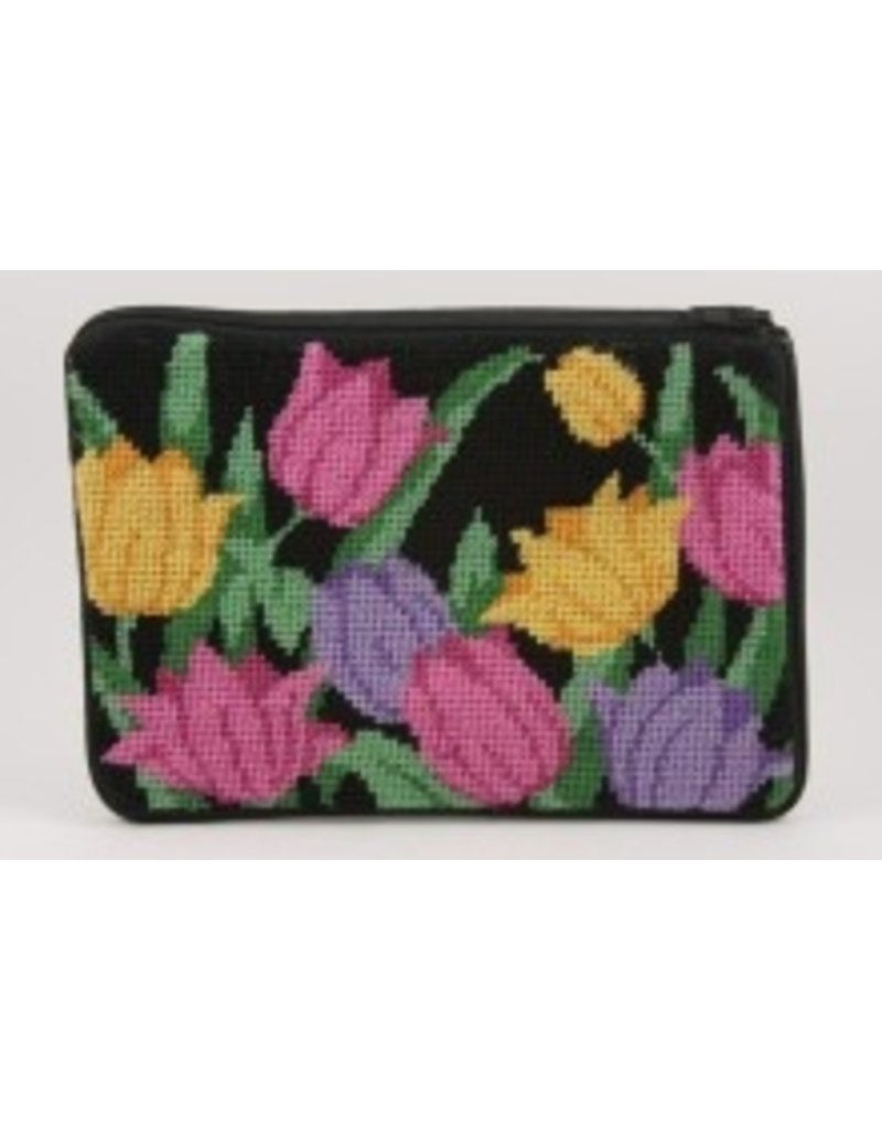 Alice Peterson Victorian Tulips makeup bag
