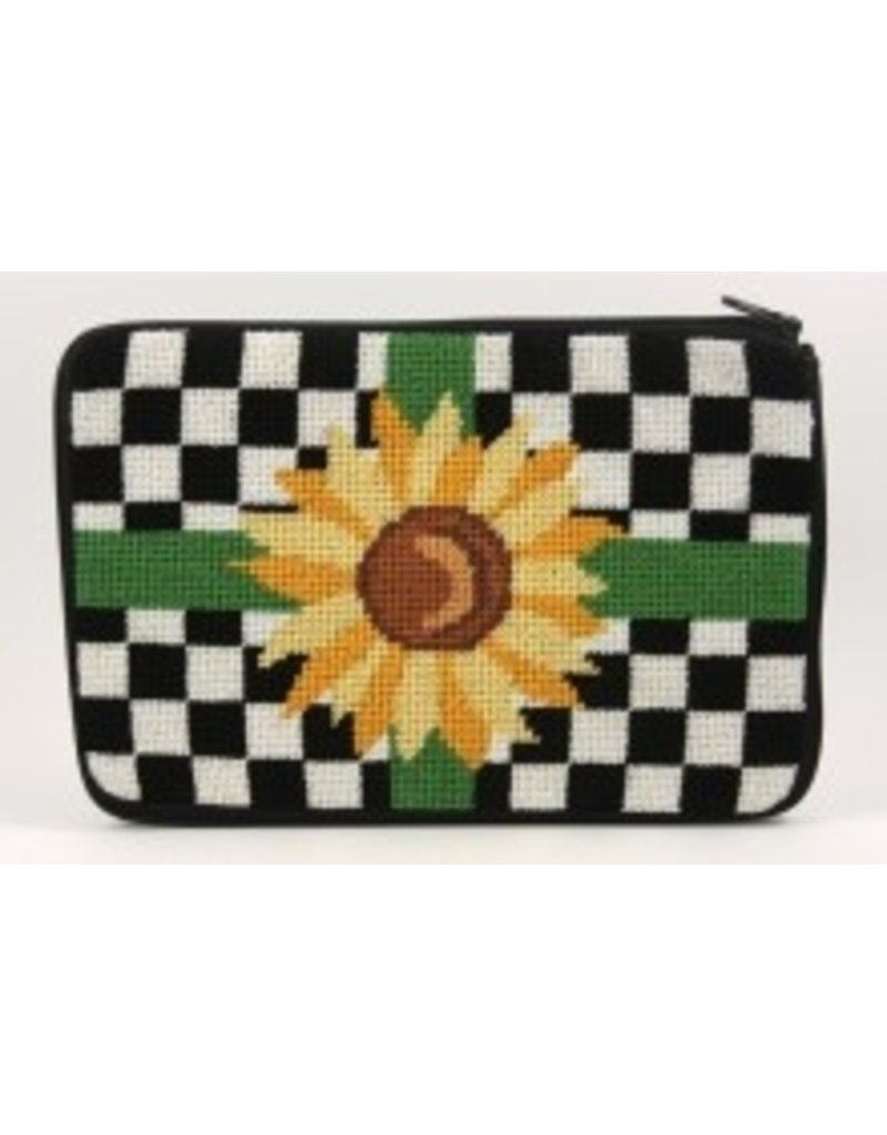 Alice Peterson Sunflower makeup bag