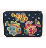 Alice Peterson Tropical Fish <br />Cosmetic Case