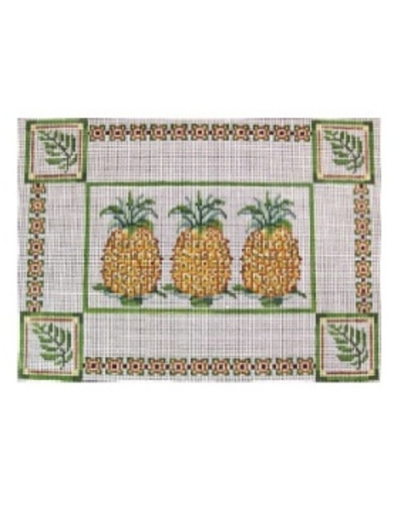 Alice Peterson Three Pineapples<br />13&quot; x 9.5&quot;