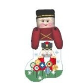 Kathy Schenkel Nutcracker ornament w/Soldier