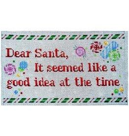 Associated Talent Dear Santa - It seemed like a good idea.<br />10.5&quot; x 6.5&quot;