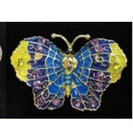 Elizabeth Turner Butterfly Magnet