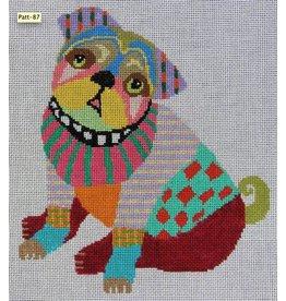 Pajamas & Chocolate Patchwork Pug / Boxer