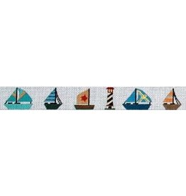 Elizabeth Turner Sailboats & Lighthouses belt