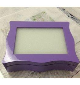 """Amanda Lawford Lavender Wavy Box 8""""x6"""""""