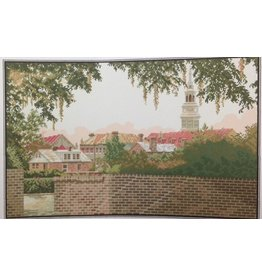 CW Designs Rooftops of Charleston - cross stitch pattern