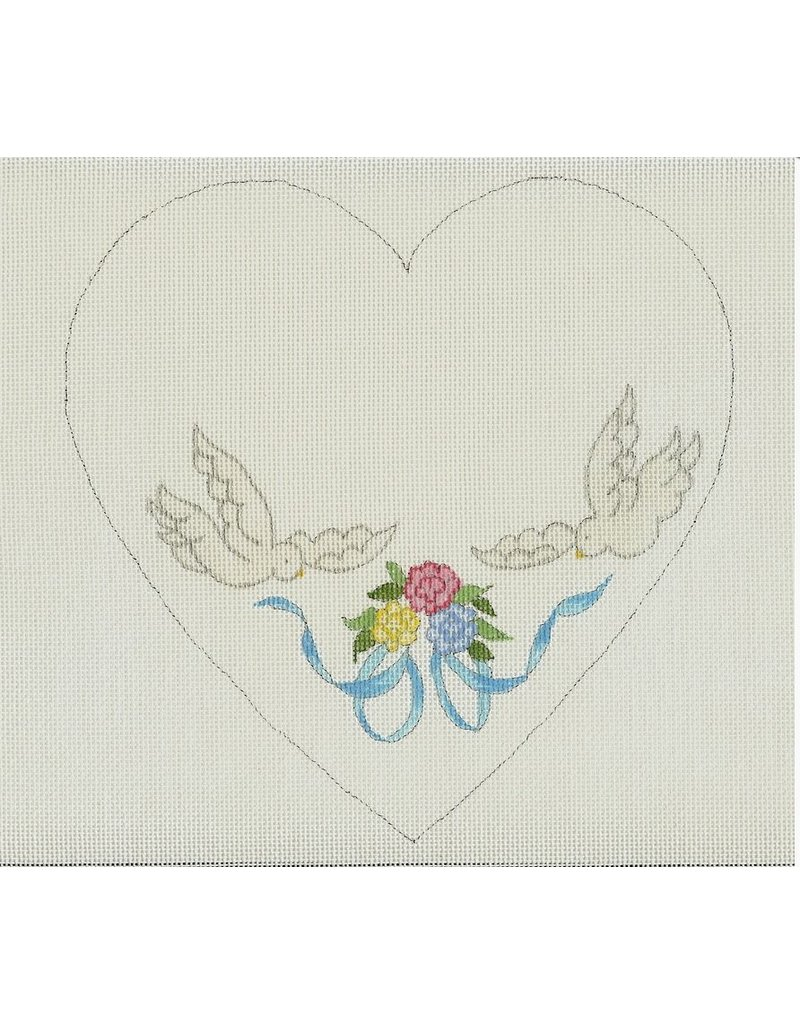 All About Stitching Doves & Bows