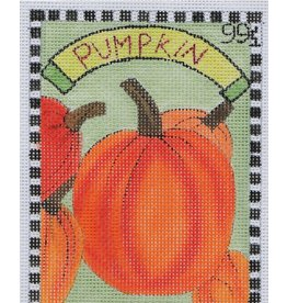 BB Needlepoint Design Pumpkin Seed Packet