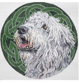 Barbara Russell Irish Wolfhound<br />10&quot; Circle