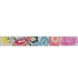 Elizabeth Turner Oriental Butterfly Floral Belt