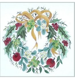 Julie Mar Christmas Wreath<br />9&quot; round