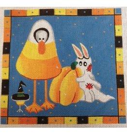 Rosalie Corn candy duck &amp; bunny<br />Halloween
