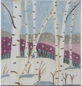 BB Needlepoint Design Winter Birchs<br />
