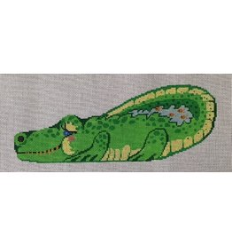 CBK Needlepoint Allie the Alligator<br />