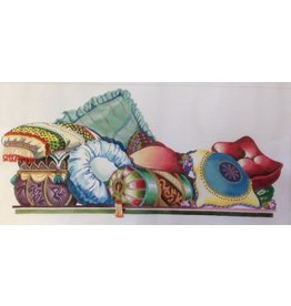 All About Stitching Pillows<br />Rectangular 22&quot; x 11&quot;