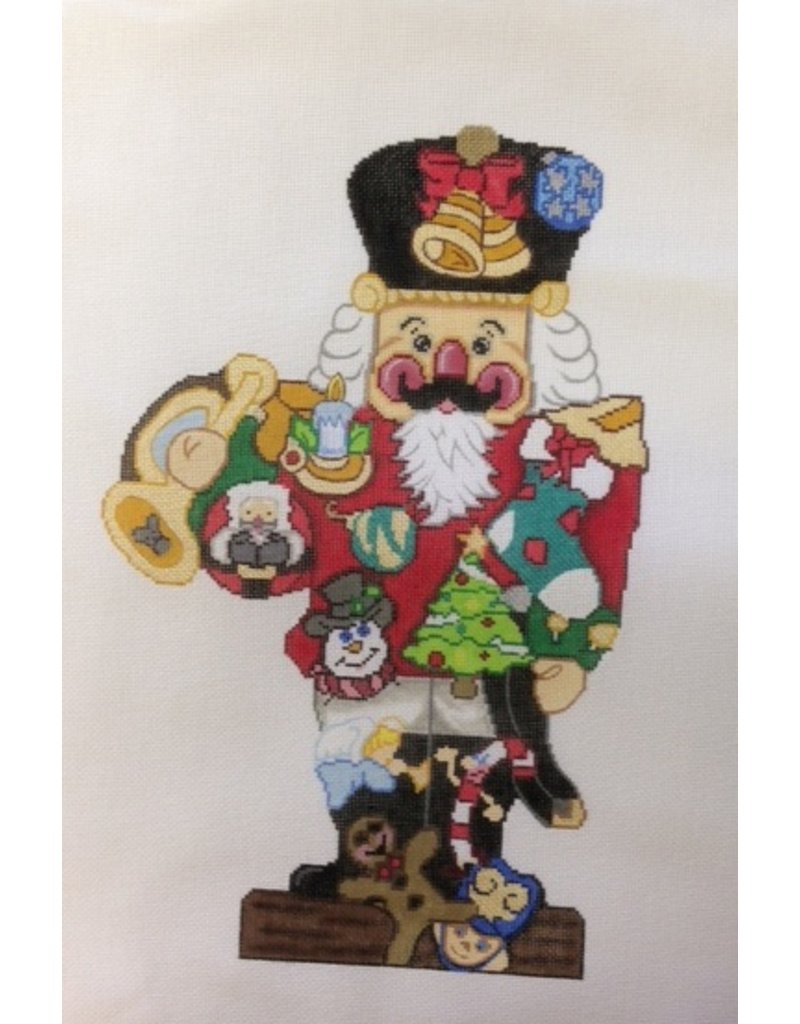 All About Stitching Nutcracker Soldier
