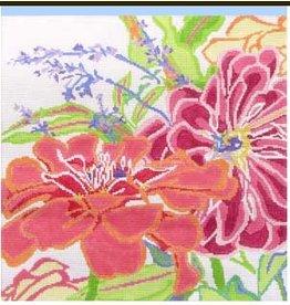 Jean Smith Designs Zennia Dazzle #1<br />14&quot; x 14&quot;