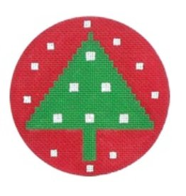 Melissa Shirley Tree ornament<br />4&quot; diameter