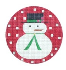 Melissa Shirley Snowman ornament<br />