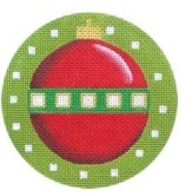 Melissa Shirley Xmas Ball ornament<br />4&quot; diameter