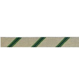 Elizabeth Turner Diagonal Stripe Belt<br />