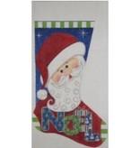 Alice Peterson Santa - Noel Stocking<br />11&quot; x 19&quot;