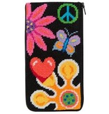Alice Peterson Fun Floral Eyeglass Case