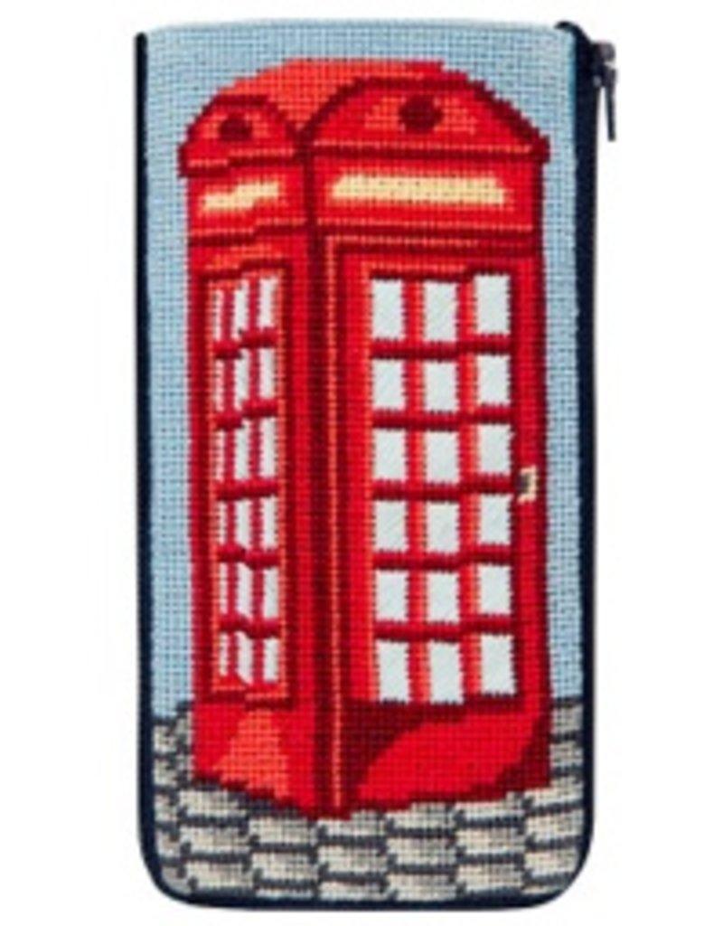 Alice Peterson English Phone Booth Eyeglass Case - Kit