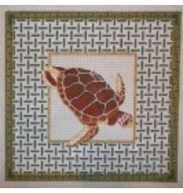 Alice VanTrese Loggerhead Turtle<br />14.5&quot;x14.5&quot;