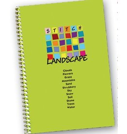 Little Shoppe Canvas Book - Stitch Landscape