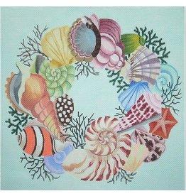 Julia Shell Wreath<br />11&quot; x 14&quot;
