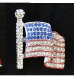 Elizabeth Turner Flag Magnet