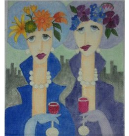 BB Needlepoint Design Ladies on the Town<br />