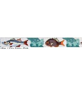 Elizabeth Turner Sea Spray Fish belt