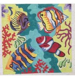Elizabeth Turner Underwater Tropical Fish - <br />